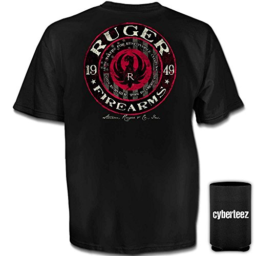 Ruger Sturm (Sturm Ruger & Co Firearms Circle 1949 T-Shirt (S))
