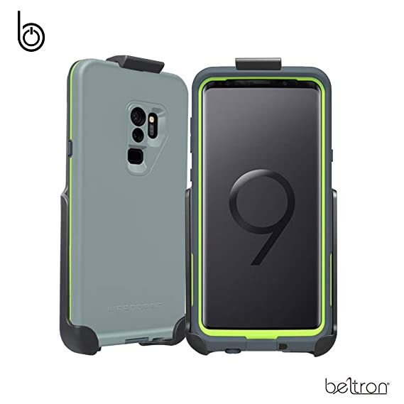 sale retailer 0f0aa 5dbd9 Belt Clip Holster for The LifeProof FRE Galaxy S9 Plus S9+ Case (case is  not Included) Features: Secure Fit, Quick Release Latch, Durable Rotating  ...