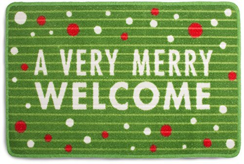 Pavilion Gift Company Merry Welcome Front Christmas Door Mat ()