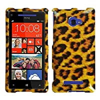 MYBAT HTCWIN8XHPCIM206NP Slim and Stylish Protective Case for HTC Windows Phone 8X - 1 Pack - Retail Packaging - Leopard Skin