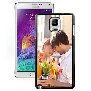 NEW DIY Unique Designed Samsung Galaxy Note 4 Phone Case For Love Couple Phone Case Cover
