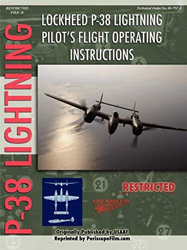 (Lockheed P-38 Lightning Pilot's Flight Manual)