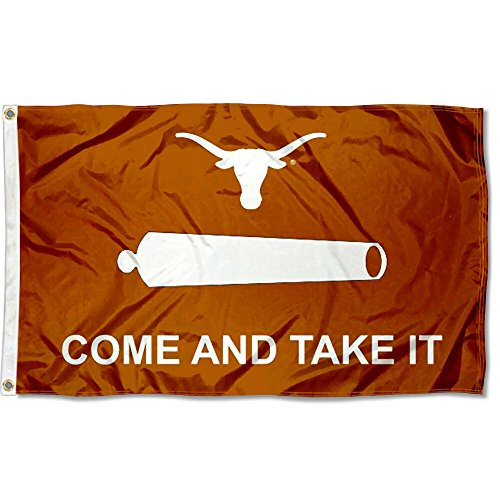 Texas UT Longhorns Come and Take It 3x5 College Flag