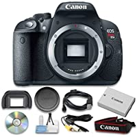 Canon EOS Rebel T5i Digital SLR Camera (Body Only) - Internation Version