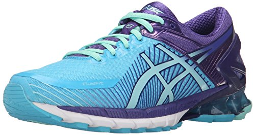 ASICS Women's Gel-Kinsei 6 Running Shoe, Turquoise/Aqua Mint/Purple, 11 M US by ASICS