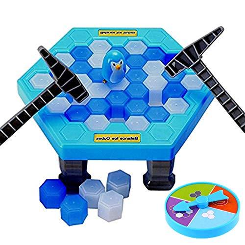 SuperLi Puzzle Table Games Penguin ice pounding Penguin