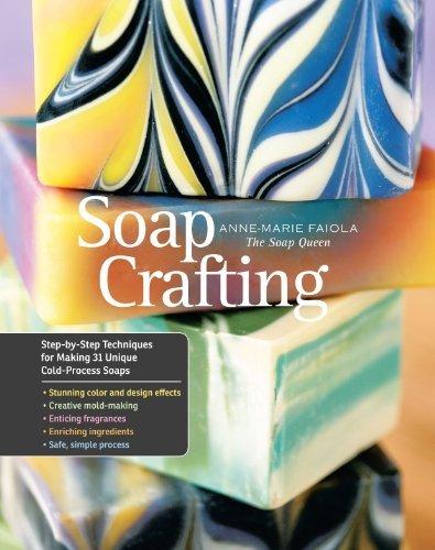 By Anne-Marie Faiola - Soap Crafting (Spiral Bound) (11.10.2013)