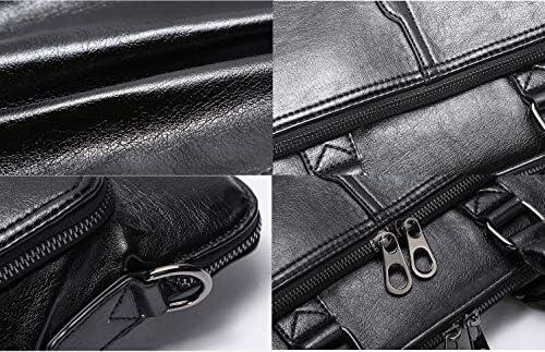 ビジネスバッグ メンズ 大容量 pu レザー ブリーフケース A4サイズ対応 14インチまでPC対応 パソコンバッグ 本革 鞄 自立式 軽量 ビジネス 無地 撥水 衝撃吸収
