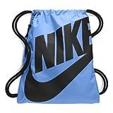 Nike Heritage Gym Sack (Auqa Blue/Sky Black)