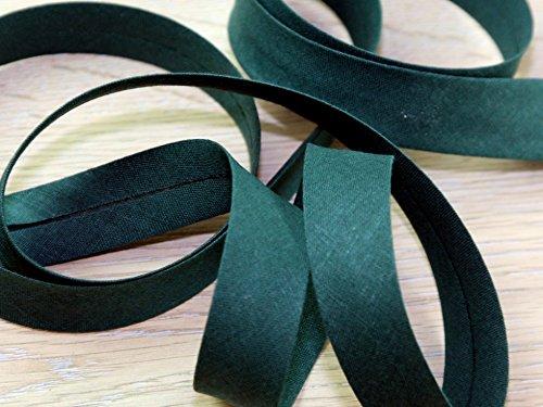 20mm Prym Cotton Bias Binding Tape Fir Green - per metre