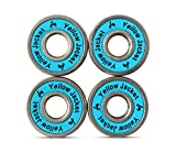 Premium Scooter Bearings, Razor Scooters, Kick Scooter, 608, ABEC 11, Bomber Blue (Pack of 4)