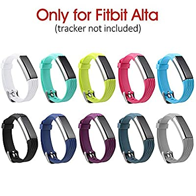 Newest Replacement Wristband With Watch Buckle Design for Fitbit Alta (No Tracker)