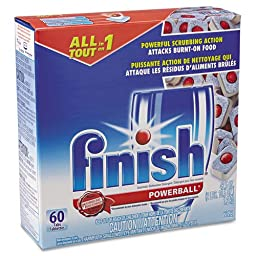 REC81158 - Powerball Dishwasher Tabs, Fresh Scent