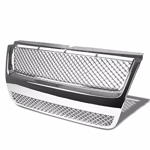 Front Chrome Mesh Replacement Grille Grill for Ford 06-09 Explorer/07-09 Explorer Sport Trac U251 (DO NOT fit XLS Model)