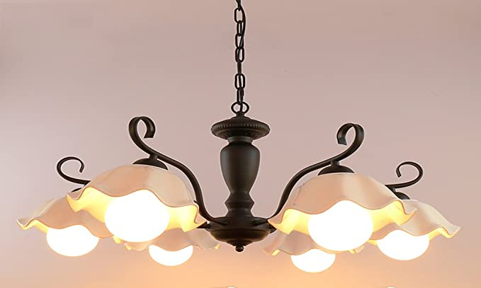 Lampadari In Ferro E Ceramica : Mqhy light lampadario personalizzato di artigiani del ferro e