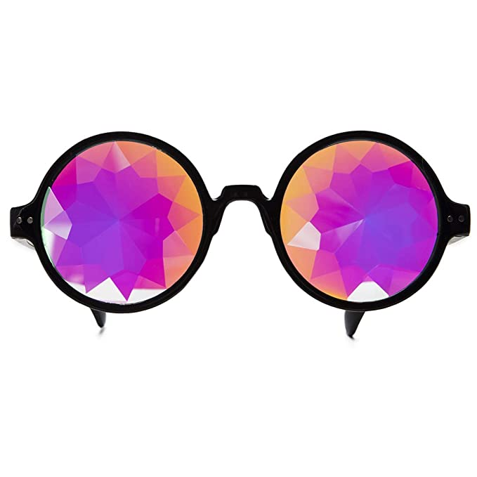 Amazon.com: FUT Hallowmas Gafas de Cosplay, Cristal Rave ...