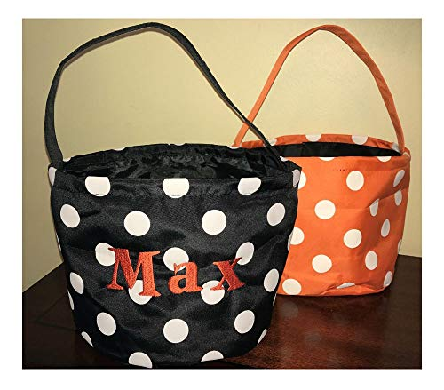 Personalized Trick or Treat Bag, Trick or Treat Bucket, Halloween Bucket -