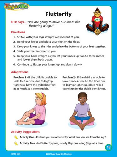 Super Duper Publications Yogarilla Exercises and Activities - Yoga Flash Card Deck Educational Learning Resource for Children by Super Duper Publications (Image #5)
