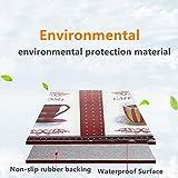 USTIDE 2Pcs Non-Skid/Slip Rubber Back Kitchen Rug