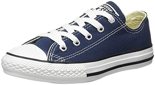 Converse Chuck Taylor All Star Low Top Navy 3J237 Youth Size - 3 Youth Size Converse
