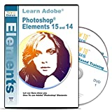 Adobe Photoshop Elements 15 and 14 Training on 2 DVDs, 16 Hours in 248 Video Tutorial Lessons