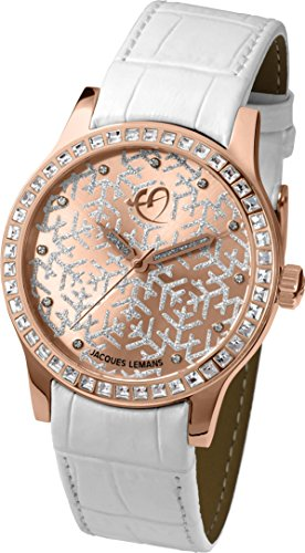 Jacques Lemans ANNA FENNINGER AF-102B Wristwatch for women With Swarovski crystals