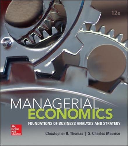 78021901 - Managerial Economics (The Mcgraw-hill Economics Series)