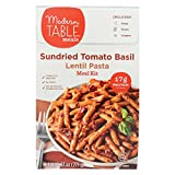 MODERN TABLE, Lentil Pasta Meal Kit,Sundried Tomato Basil, Pack of 6, Size 9.63 OZ - No Artificial Ingredients Gluten Free Wheat Free