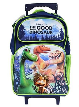 "Disney The Good Dinosaur Large 16"" Roller School Backpack"