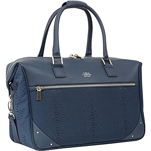 Vince Camuto Women's 17'' Carry on Travel Bag Weekend Duffel, Dark Navy, One Size by Vince Camuto