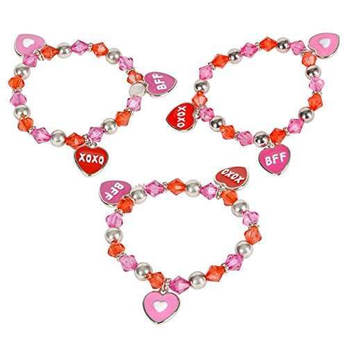 Valentine Valentines Heart Bracelets Supplies product image