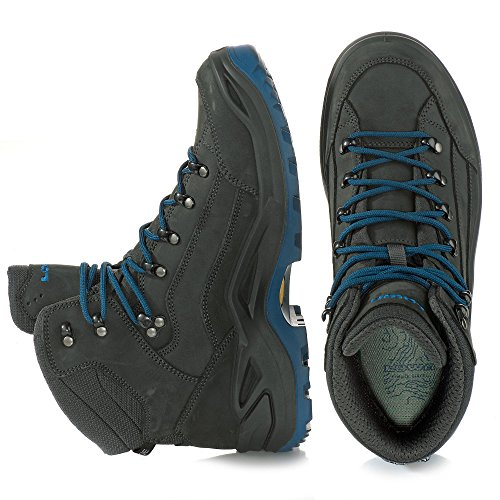 Lowa Renegade GTX Mid Anthrazit Jeans 42