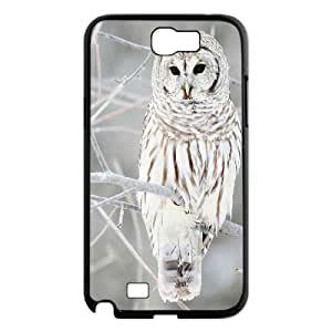 Owl Design Unique Customized Hard Case Cover for Samsung Galaxy Note 2 N7100, Owl Galaxy Note 2 N7100 Cover Case Kimberly Kurzendoerfer