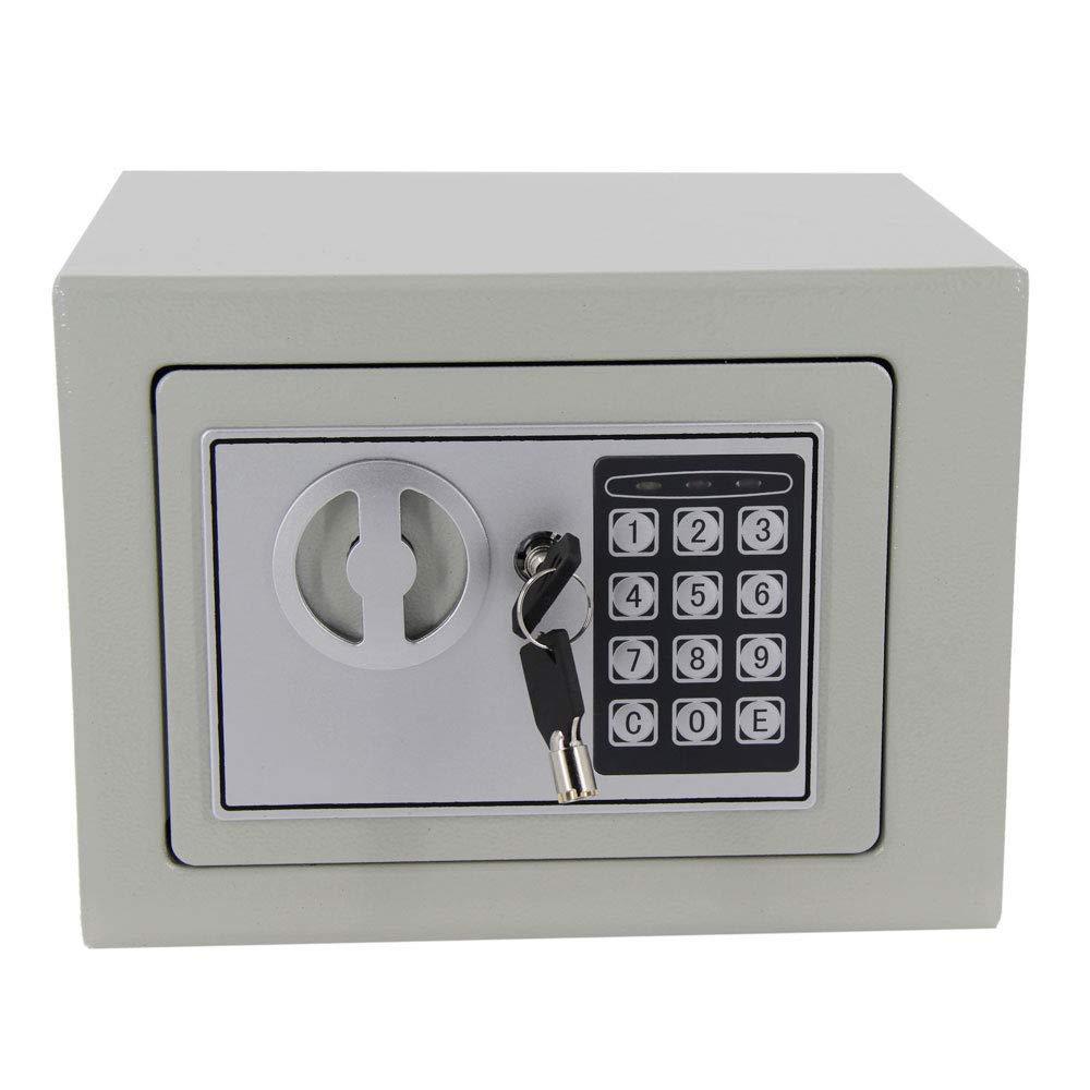 9'' Electronic Digital Safe Box Keypad Lock Home Security Office Hotel Safety