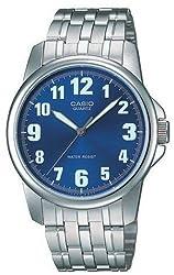 Casio #MTP1216A-2B Men's Metal Fashion Easy Reading Dial Watch