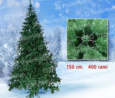 Albero Di Natale 400 Cm.Albero Di Natale Pino Extra Folto Gran Sasso 150 Cm 400 Rami