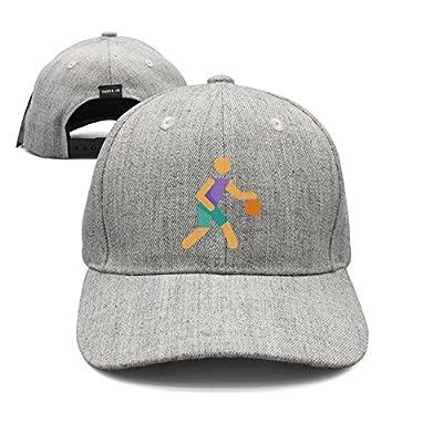 srygjukuu Unisex Cartoon Basketball Player Snapback Hats Adjustable Vintage Caps