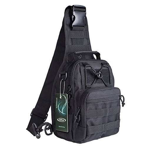 G4Free Outdoor Tactical Backpack,Military Sport Pack Daypack Shoulder Backpack for Tenting, Hiking, Trekking,Rover Sling Pack Chest Pack – DiZiSports Store