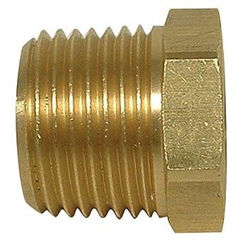 Tompkins 3220-08-04 - Embellecedor para tubos (Hex, reductor, M