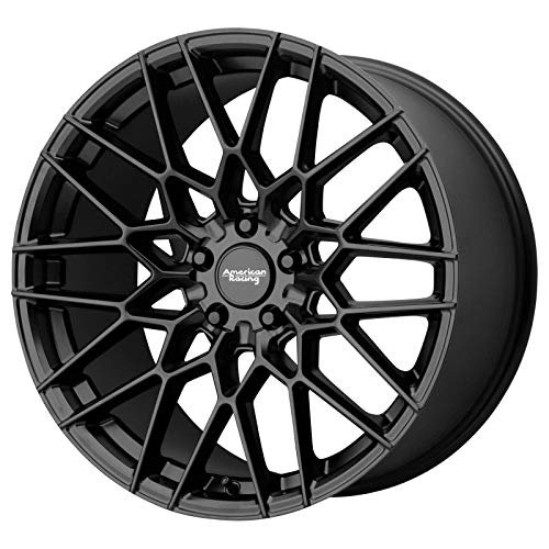 AMERICAN RACING AR927 BARRAGE Wheel with BLACK and Chromium (hexavalent compounds) (20 x 9. inches /5 x 74 mm, 20 mm Offset)