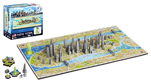 4D Cityscape Mini Puzzle (193 Piece), New York ()