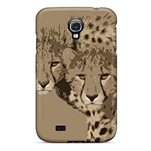 Top Quality Rugged Cheetah Brothers Case Cover For Galaxy S4