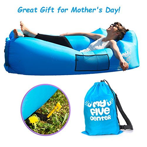 Inflatable Portable Lounger Air Sofa Hammock Blow