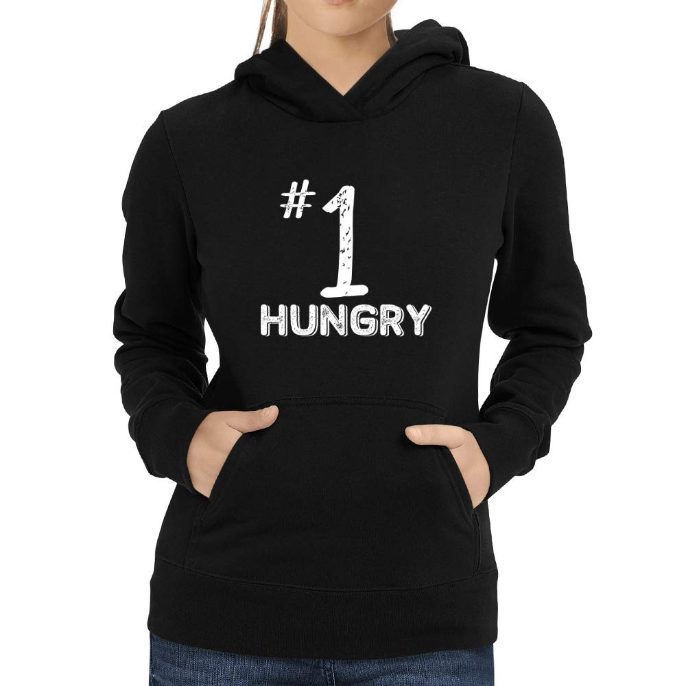 Eddany Number 1 Hungry Women Hoodie
