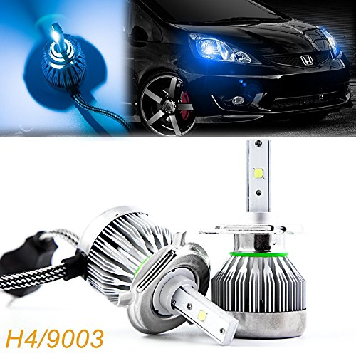 9003 headlight bulb led blue - 8