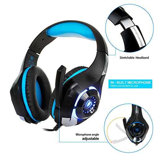 51OXvaAZoVL - Gaming-Headset-for-PS4Tezewa-Xbox-One-Gaming-HeadsetPC-Gaming-HeadsetStereo-PS4-Headphones-with-MicLED-Gaming-Headphones-With-Microphone-for-Xbox-One-PSP-Netendo-DS-PC-Tablet-iPhone8-X-iPad