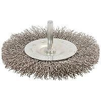 Silverline 525076 - Cepillo circular de acero inoxidable