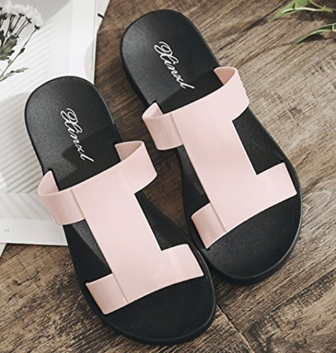 Cattior Dames Zomer Strand Water Outdoor Slippers Dia Sandalen Roze