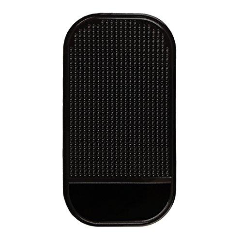 Andux Land Cojín antideslizante del caucho del sostenedor de la estera del coche para el teléfono celular MP3 MP4 CZFHD-01...