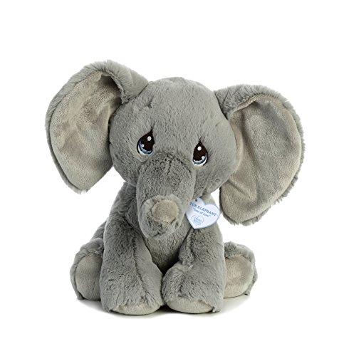 Aurora World Precious Moments Tuk Elephant, Gray
